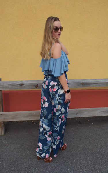 Floribella Wide Leg Pants