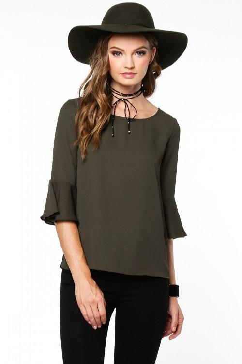 Olivia Bell Sleeve Top