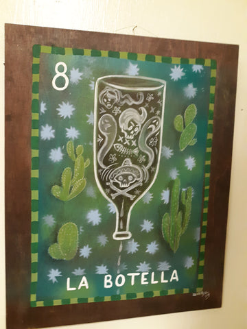 LA BOTELLA: Loteria Art