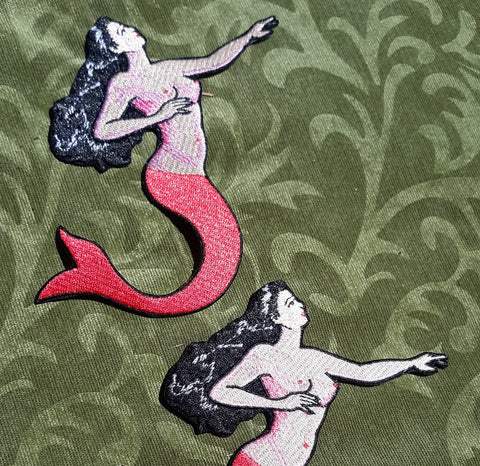 La Sirena Mermaid Patch