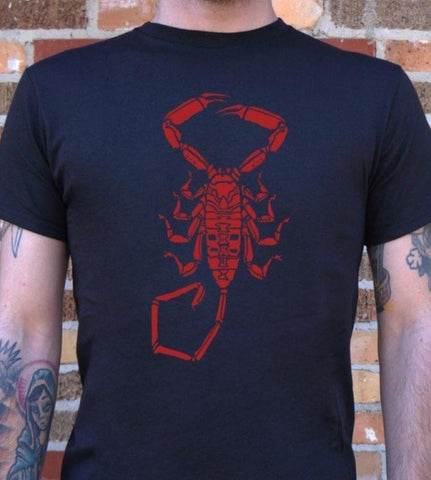 "Scorpion Black Tshirt ""Alacran"""