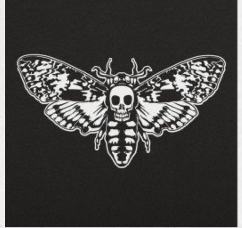Death Moth Black Tshirt