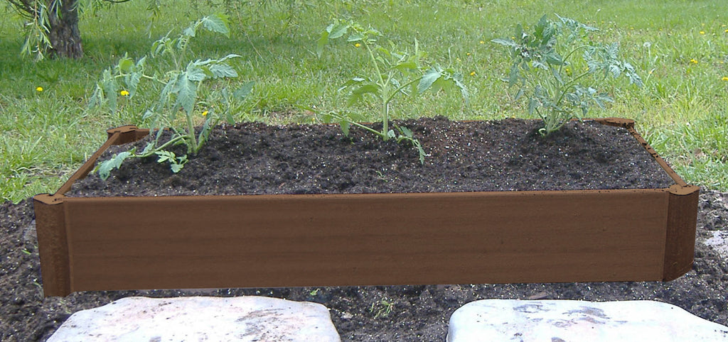 8inch Raised Garden Bed - Half Bed