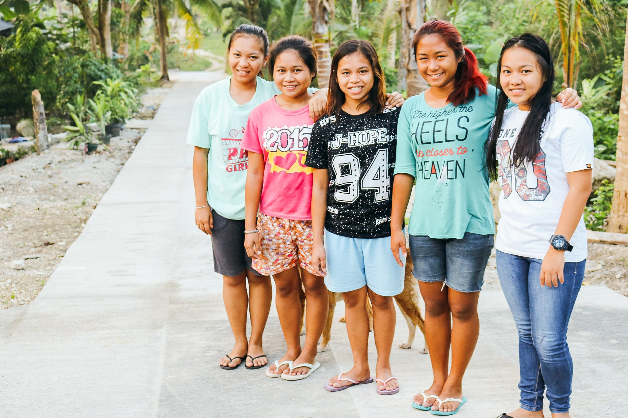 New access road improves efficiency and sales at Cebu, Philippines farmland; 'She Has Hope' program beneficiary case study