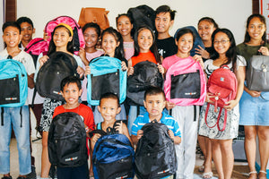 49 Children receive back to school supplies, shoes, uniforms at Cebu, Philippines, Children's Hope Center; new security features installed to ensure well-being of our students