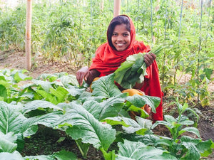 Abundant garden harvest aids Nepal team in effort to overcome crippling India blockade