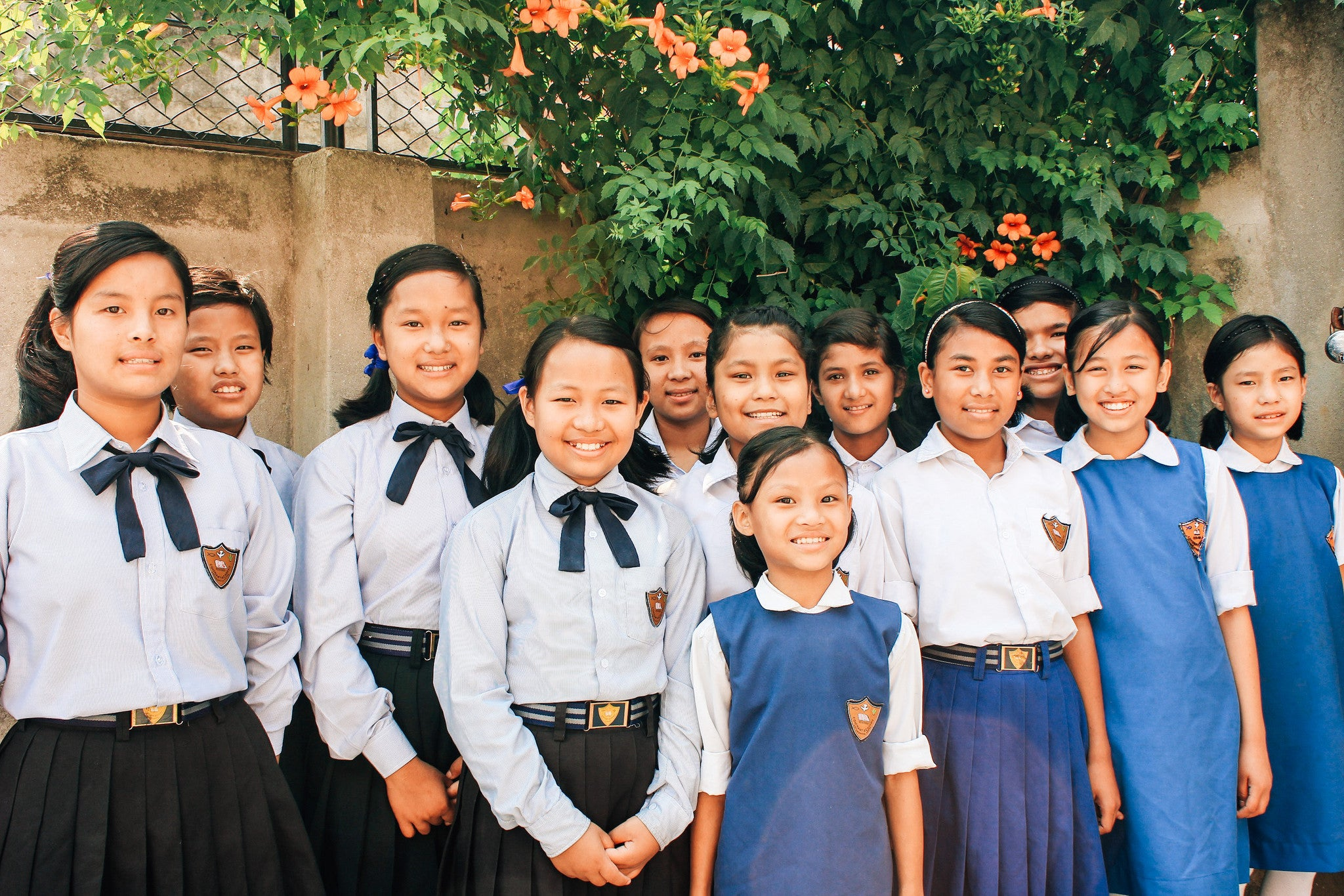 Nepal: 11 girls rescued from trafficking situations, orphan home students begin new school year