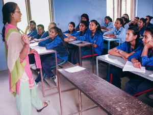 Nepal team training over 500 school girls monthly in human trafficking avoidance