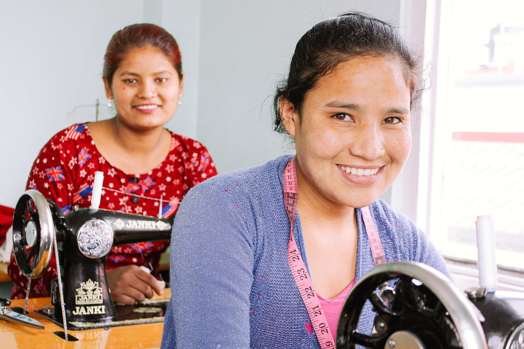 Nepal 'She Has Hope' home currently housing 16 trafficking survivors; recent graduate now profiting from her new business at 3 times above poverty line