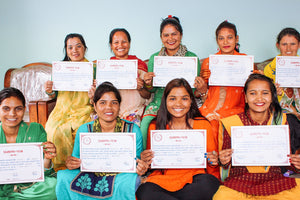 Nepal: Celebrating a recent graduation at our 'She Has Hope' rehabilitation home; volunteers travel to teach girls new skills; Development Coordinator's on-site report
