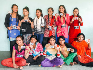 20 orphans at Nepal orphan home successfully enrolled for 2018-19 Nepali school year; girls at 'She Has Hope' rehabilitation home enjoy photography workshop sponsored by Fuji Cameras