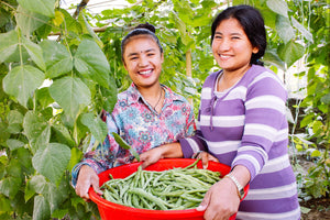 Nepal rehabilitation home gardening project sees continued success; the story of one brave survivor and her courageous journey to escape slavery