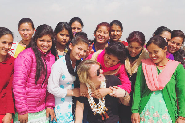 Jewelry designer from U.S. returns to Nepal 'She Has Hope' home to teach new jewelry designs