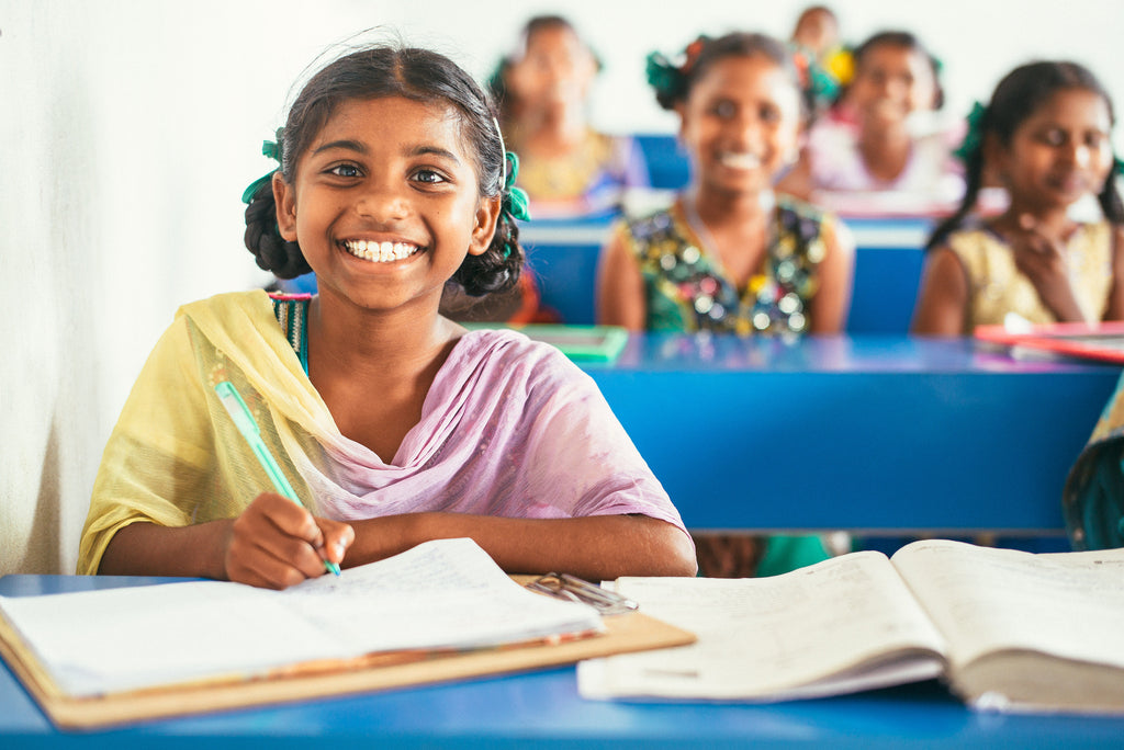 India orphan home students prepare for final exams; story of one girl's path to becoming the first among her entire extended family to attend school