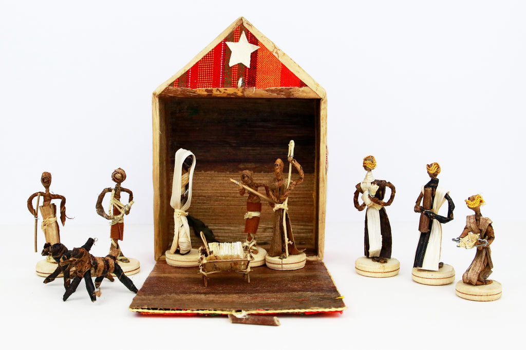 Uganda Nativity Set