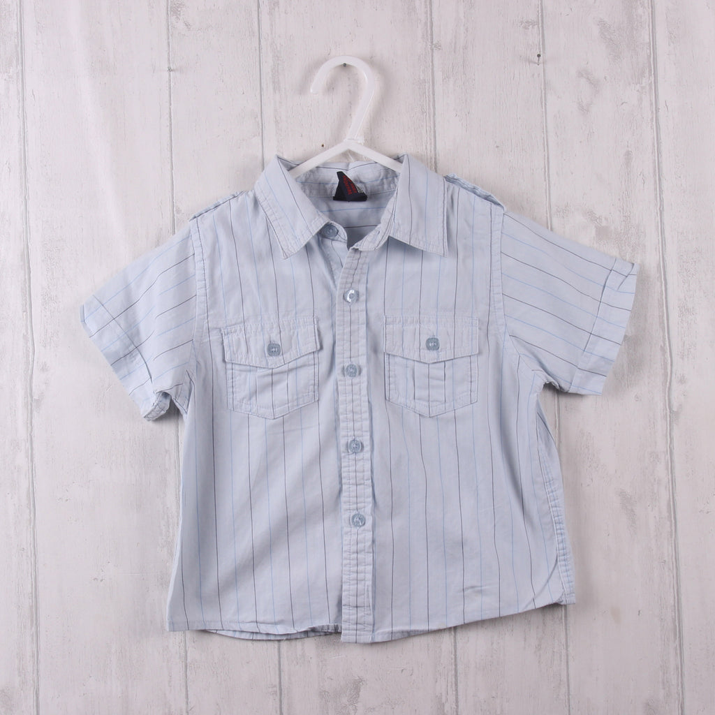 Next Striped Shirt 12-18m Boys