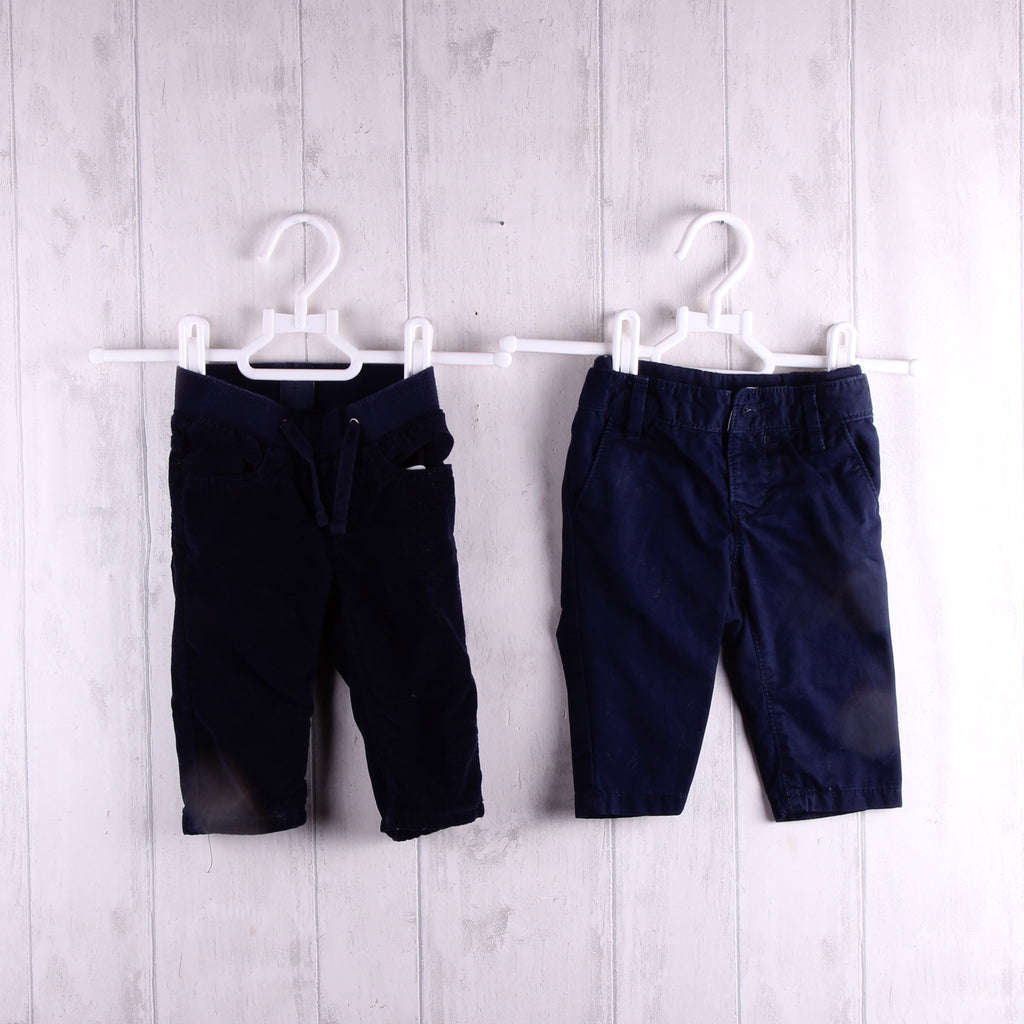 Baby Gap 2 Pairs Trousers  3-6m Boys