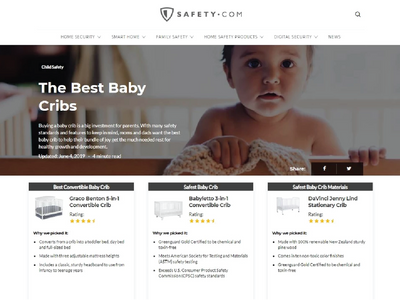Safety.com: The Best Baby Cribs image