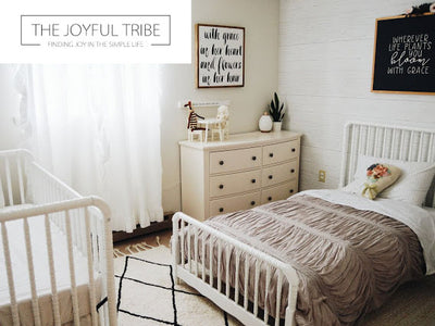 Nursery Reveal: Jenny Lind for Big Sister and Baby! image
