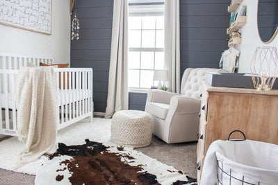 Modern Farmhouse Baby Boys Nursery Reveal image
