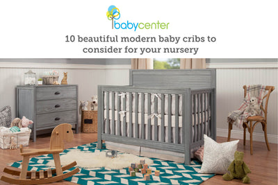 Baby Center: 10 beautiful modern baby cribs to consider for your nursery image