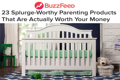 Buzzfeed: 23 Splurge-Worthy Parenting Products That Are Actually Worth Your Money image