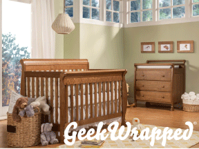 Geek Wrapped: Best Modern Baby Cribs image