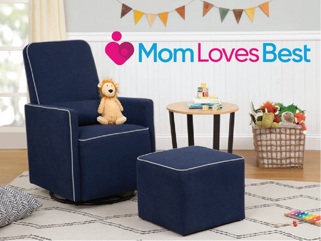 MOM LOVES BEST: Best Nursery Gliders & Nursing Chairs Of 2020 image