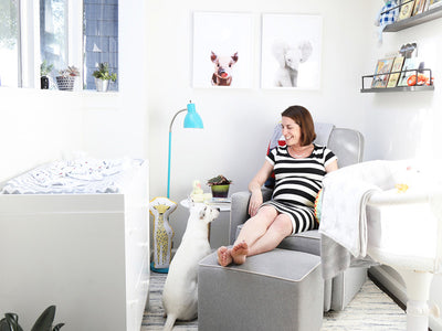 The Render: How Modsy's CEO Turned Her Breakfast Nook Into A Charming Nursery Design image