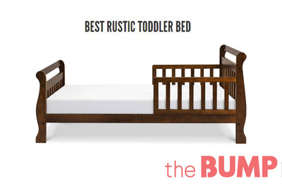 The Bump: Best Rustic Toddler Bed image