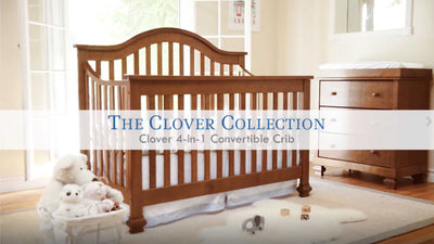 Product Feature: Clover 4-in-1 Convertible Crib image