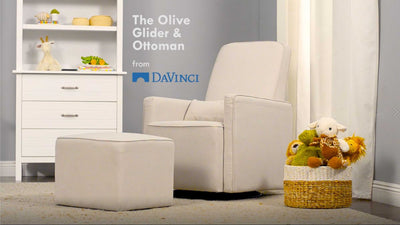 Product Feature: Olive Swivel Glider and Ottoman image