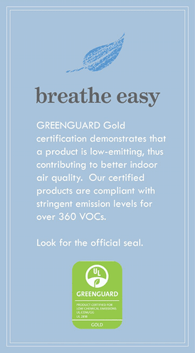 greenguard gold - breathe easy