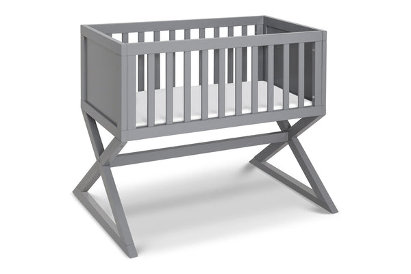 R0934W.BASE, Bailey Bassinet Replacement Base in White Grey