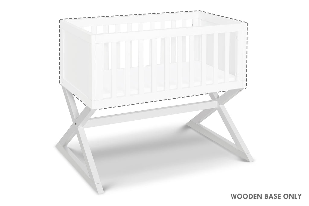 R0934W.BASE, Bailey Bassinet Replacement Base in White