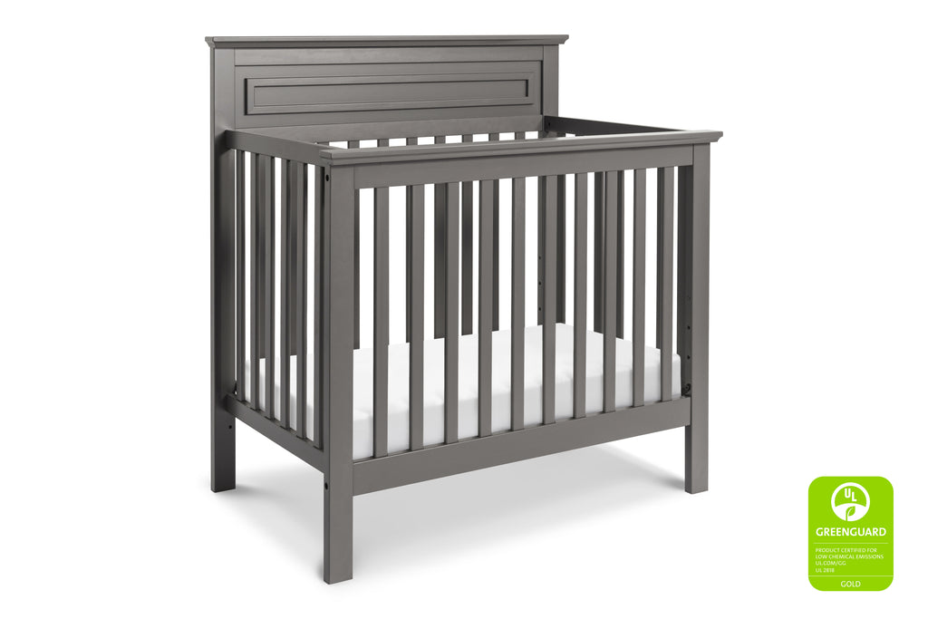 M4398SL,Autumn 2-in-1 Mini Crib and Twin Bed In Slate