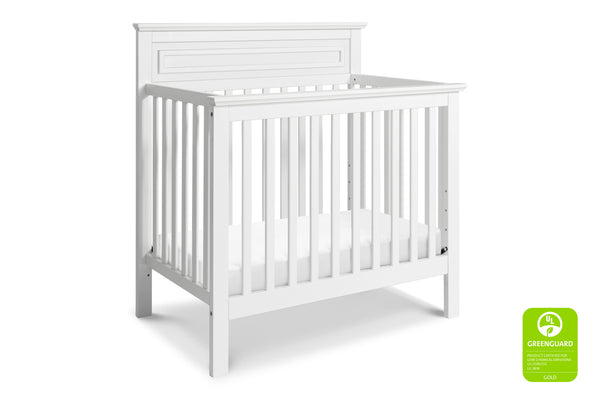 M4398SL,Autumn 2-in-1 Mini Crib and Twin Bed In Slate White