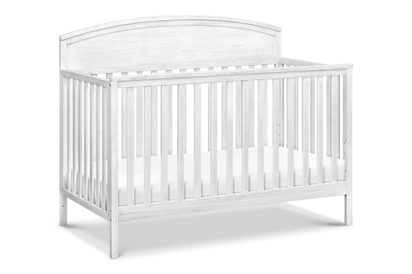 M13401UG,Liam 4-in-1 Convertible Crib in Rustic Grey Cottage White