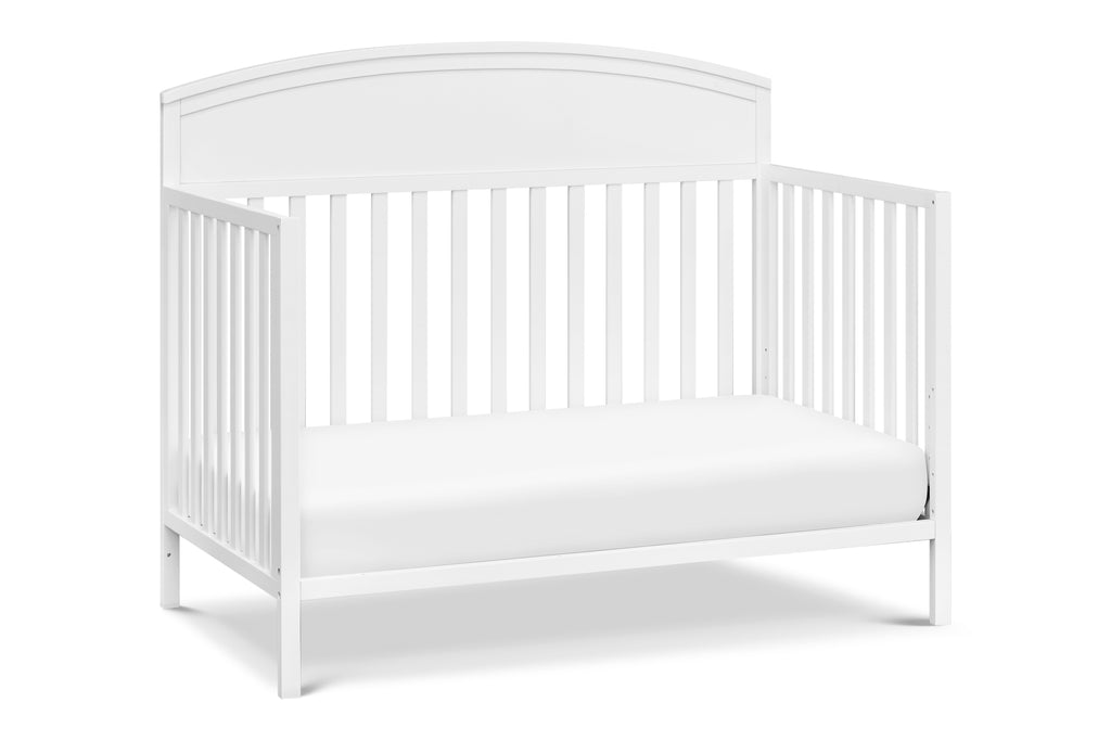 M13401W,Liam 4-in-1 Convertible Crib In White