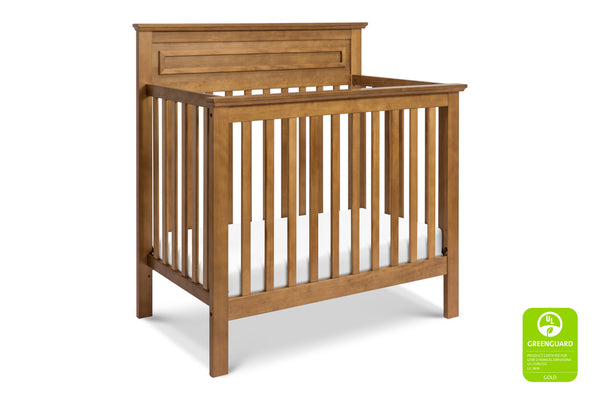 M4398SL,Autumn 2-in-1 Mini Crib and Twin Bed In Slate Chestnut
