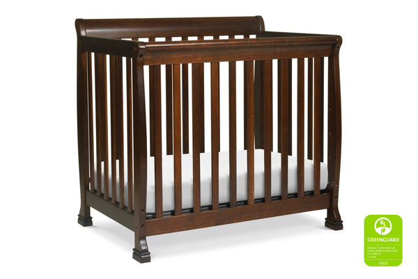 M5598,Kalani 2-in-1 Mini Crib and Twin Bed Espresso