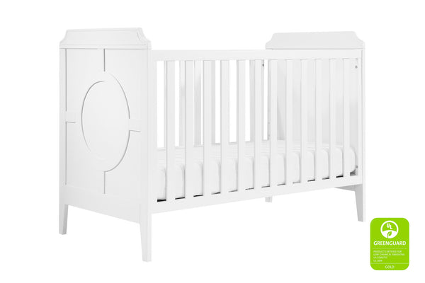 M11401,Poppy Regency 3-in-1 Convertible Crib White / White