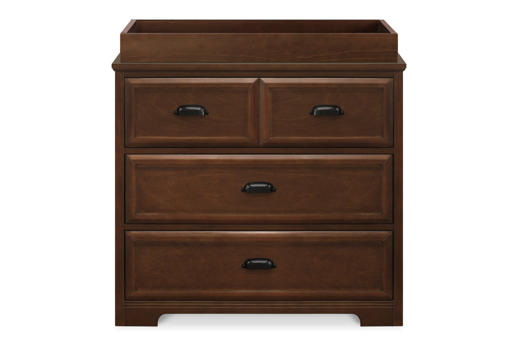 M16123Q,Charlie Homestead 3-Drawer Dresser  KD in Espresso