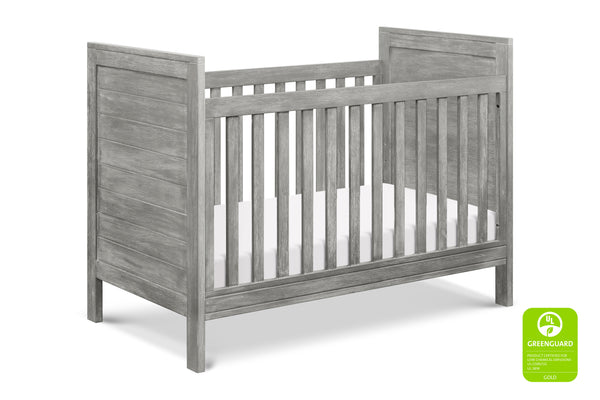 M13501UP,Fairway 3-in-1 Convertible Crib in Rustic Pine Cottage Grey