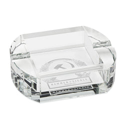 CRYSTAL, CIGAR ASHTRAY