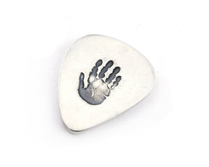 Handprint Keepsake Guitar Pick