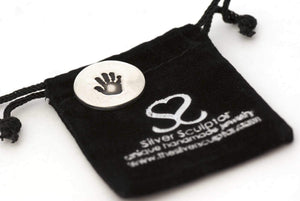 Handprint Keepsake Golf Ball Marker - Handprint Jewelry
