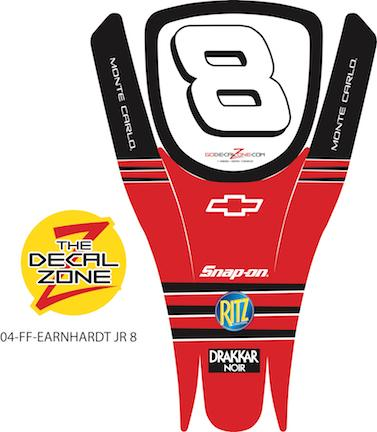 04-FF-EARNHARDT JR 8 NASCAR