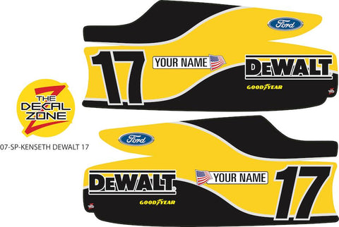 07-SP-KENSETH DEWALT 17