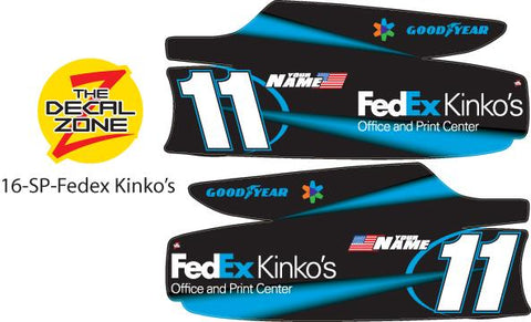 16-SP-FedEx Kinko's NASCAR